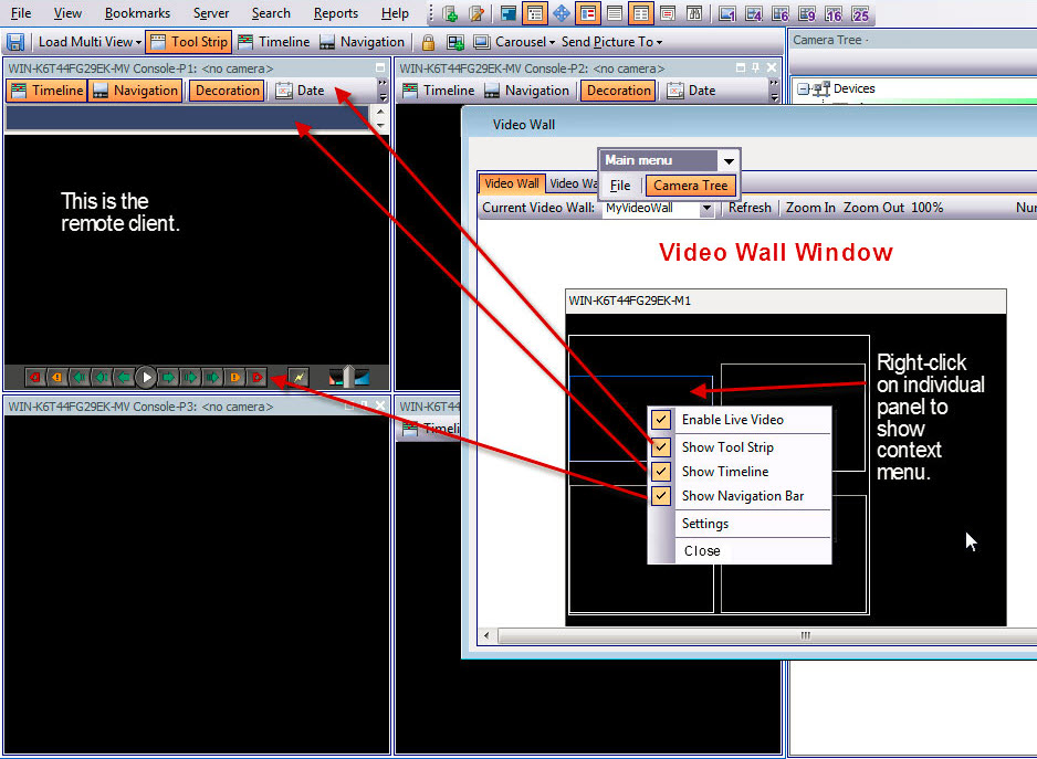 Configuring and Managing a Video Wall